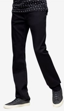 Ricky Straight Fit Jeans with Back Flap Pockets