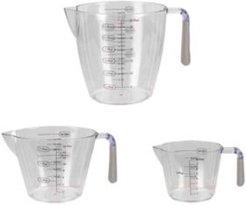 3-Pc. Measuring Cup with Rubber Grip