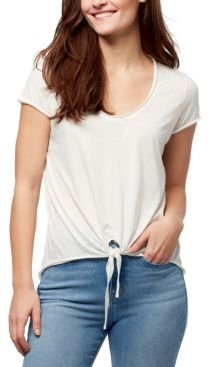 Astrid Tie-Front T-Shirt