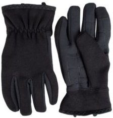 Stretch Heathered Knit Glove with InteliTouch Texting Touchscreen Technology