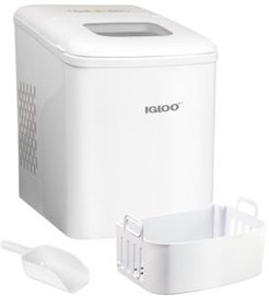 ICEBNH26WH 26-Pound Automatic Self-Cleaning Portable Countertop Ice Maker Machine
