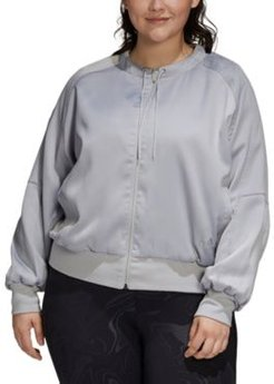 Plus Size City Light Jacket