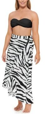 Spell Bound Printed Sarong Cover-Up Women's Swimsuit