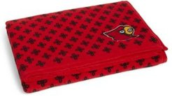 Louisville Cardinals Throw Blanket