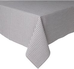 """Gingham Woven Tablecloth Single Pack 60""""x84"""""""