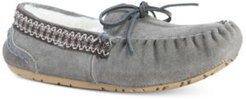 Jane Suede Moccasin Slippers