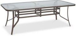 """Oasis Aluminum Outdoor 84"""" x 42"""" Dining Table, Created for Macy's"""