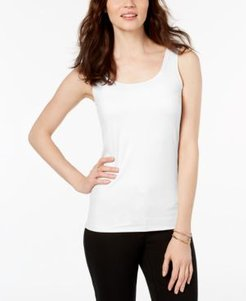 Petite Scoop-Neck Basic Tank, Created for Macy's