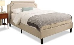 Bozza Upholstered Bed - Queen, Quick Ship