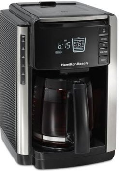 12 Cup Trucount Programmable Coffee Maker with Built in Scale