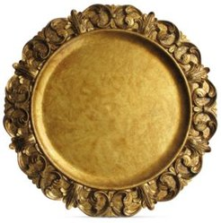 Jay Import American Atelier Gold Embossed Charger Plate