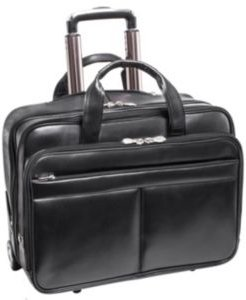 """Bowery 15"""" Wheeled Laptop Briefcase"""