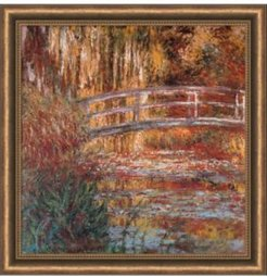 The Water-Lily Pond, 1900 Framed Art Print