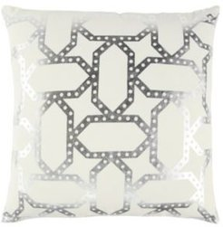 """20"""" x 20"""" Geometrical Design Poly Filled Pillow"""