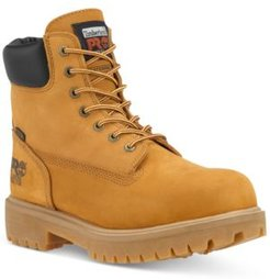 """Pro 6"""" Direct Attach Safety Toe Water-resistant Work Boot Men's Shoes"""