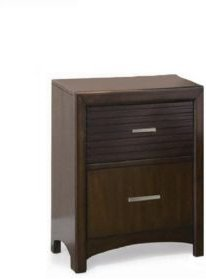 Wooden Night Stand Java Brown