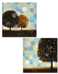 'Early Morning I/Ii' 2 Piece Canvas Wall Art Set, 20x20""