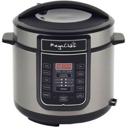 6 Quart Digital Pressure Cooker with 14 Pre-set Multi Function Features