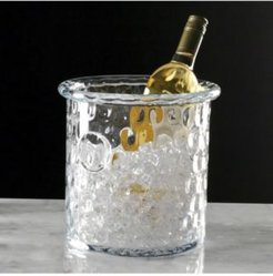 Honeycomb Ice Bucket or Cooler with Rolled Edge