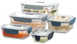 Nest Lock 10-Pc. Food Storage Container Set, Editions