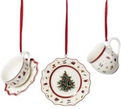 Toy's Delight Tableware Decor Ornaments, Set of 3