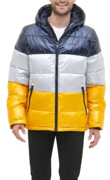 Pearlized Performance Hooded Puffer Coat