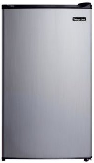 3.5 Cubic Feet Refrigerator with Full-Width Freezer Compartment with Door