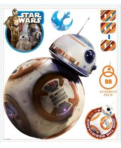 Star Wars The Force Awakens Ep Vii Bb-8 PandS Giant Wall Decal