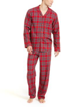Matching Men's Brinkley Plaid Family Pajama Set, Created for Macy's