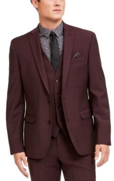 Slim-Fit Active Stretch Solid Suit Jacket, Created for Macy's