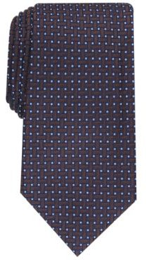 Grid Silk Tie, Created for Macy's