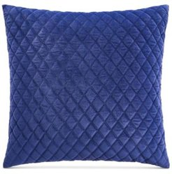 Closeout! Whim by Martha Stewart Collection Velvet Euro Decorative Pillow, Created for Macy's Bedding