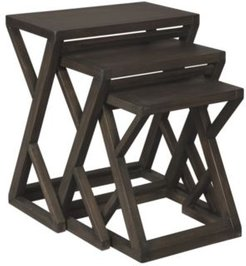 Ashley Furniture Cairnburg Accent Table Set of 3