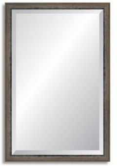 Reveal Robust Foundry Steel Beveled Wall Mirror