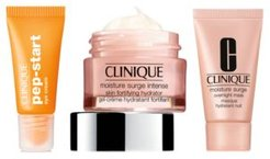 Receive your Free Skincare Trio with any $85 Clinique purchase!