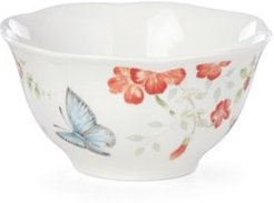 Butterfly Meadow Red Blue Butterfly Rice Bowl, Created for Macy's