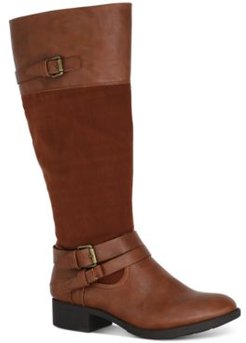 Ashliie Wide-Calf Riding Boots, Created for Macy's Women's Shoes