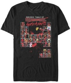 Fifth Sun Men's Deadpool Periodic Table of Awesomeness Short Sleeve T- shirt