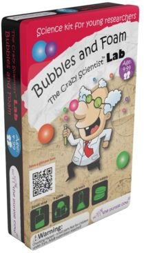 the Crazy Scientist Lab - Bubbles and Foam