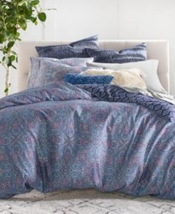 Closeout! Lucky Brand Etch Scarf Twin 2-Pc. Duvet Set Bedding