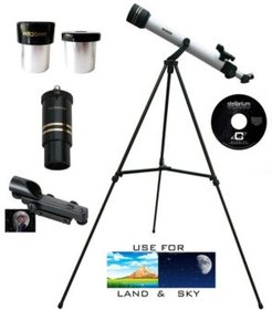 600mm x 50mm Day and Night Refractor Telescope and Tripod Kit