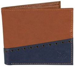 Bifold Wallet with Two-Tone Color