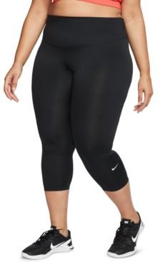 One Plus Size Cropped Tights