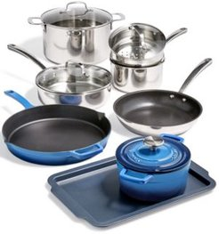 12-Pc. Mixed Material Cookware Set, Created for Macy's