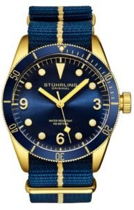 Blue Nylon Strap Watch 41mm