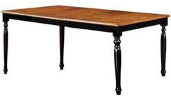 Kasparan Solid Wood Dining Table with Leaf