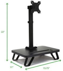 Single Lcd Monitor Desk Mount Stand