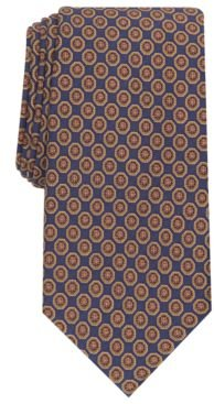 Tronto Medallion Silk Necktie, Created for Macy's