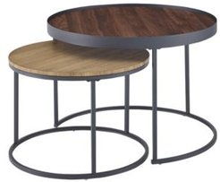"""30"""" Nesting Coffee Tables, Set of 2"""