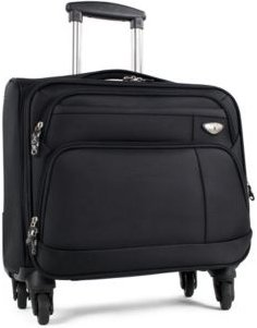 """Franklin 17"""" Carry-On Spinner Computer Briefcase"""